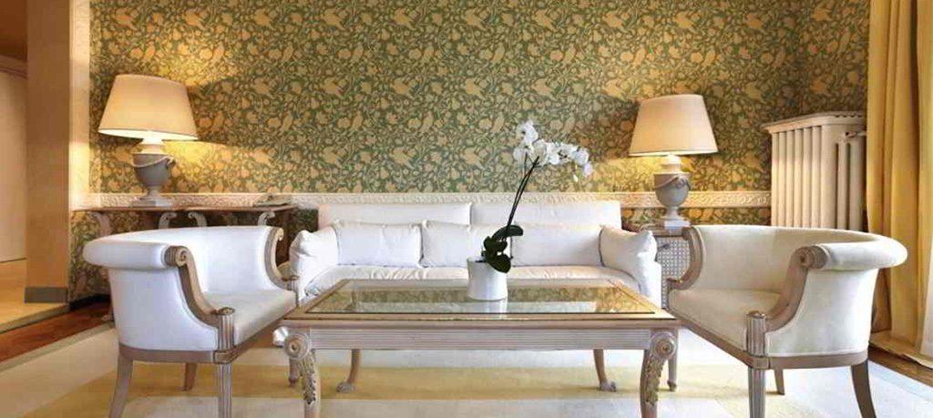 Thi công vải dán tường chung cư The Manor Mỹ Đình, Mễ Trì